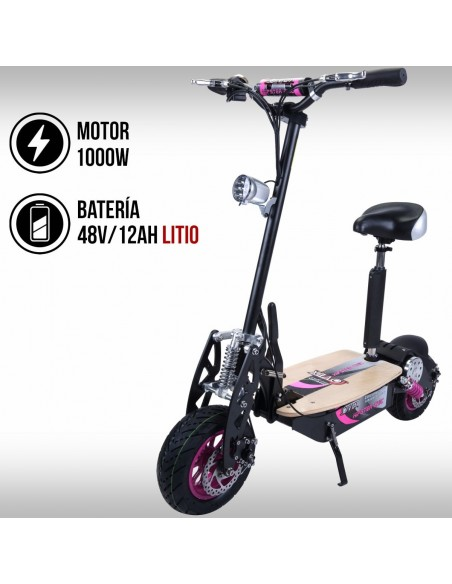 Patinete eléctrico OVEX Hipster Chic Litio