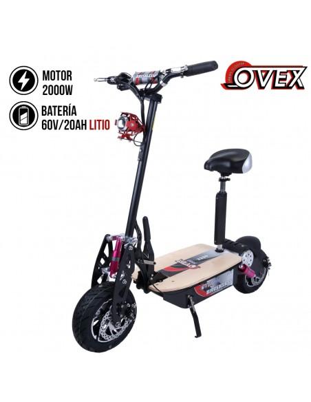 Patinete eléctrico OVEX PRO 2200W Litio