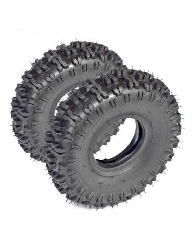 """Juego de 2 Neumáticos Miniquad 4"""""""