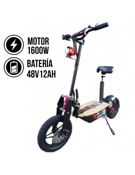 PATINETE ELÉCTRICO 1800W BRUSHLESS CROSS