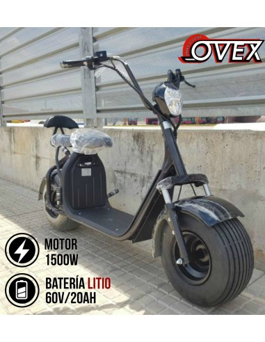 PATINETE ELÉCTRICO TIPO HARLEY SCROOSER