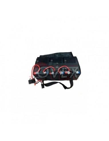Pack de 3 Baterías con Maleta 12V/12ah