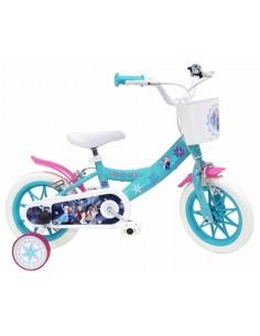 Bicicleta infantil frozen 12''
