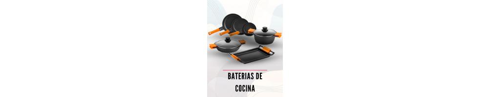Bateria de cocina ollas y sartenes menaje para hogar e for Pilas de cocina
